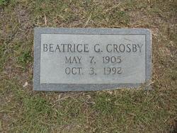 Beatrice <I>Gable</I> Crosby