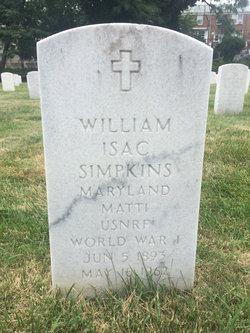 William Isac Simpkins