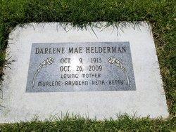 Darlene Mae <I>Lowman</I> Helderman