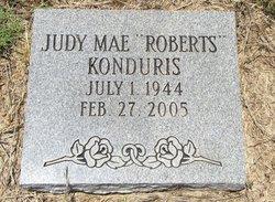 Judy Mae <I>Roberts</I> Konduris