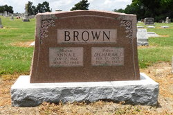 Anna Eunice <I>Brooks</I> Brown