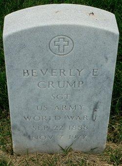 Beverly E Crump