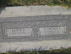 Florence Evelyn <I>Schab</I> Walker