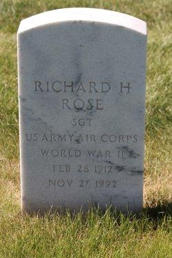 Richard H Rose