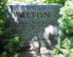 Dorothy M <I>Magee</I> Walton