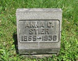 Anna C <I>Crawford</I> Stier