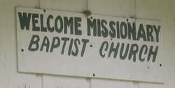 Welcome Missionary Baptist Church Cemetery