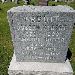 Amanda Ellen <I>Cotter</I> Abbott
