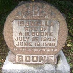 Isabella <I>Ferguson</I> Boone