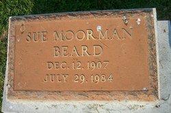 """Susanna """"Sue"""" <I>Moorman</I> Beard"""