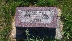 Sophie <I>Blecher</I> Will