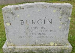 Clarence Rodgers Burgin