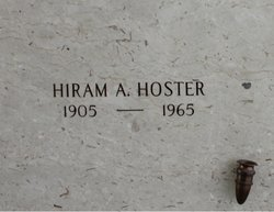 Hiram Alfred Hoster