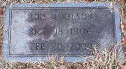 Lois Lucille <I>Marshall</I> Nelson
