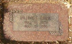 William George Maidic