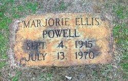 Marjorie <I>Ellis</I> Powell