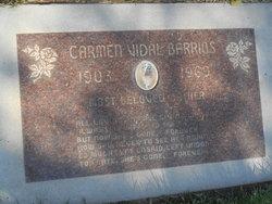 Carmen Vidal Barrios