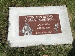 """Afton Ann """"Ann"""" <I>Bodily</I> Robinson"""