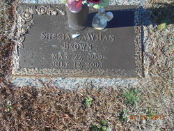 Shelia <I>LaWhan</I> Brown