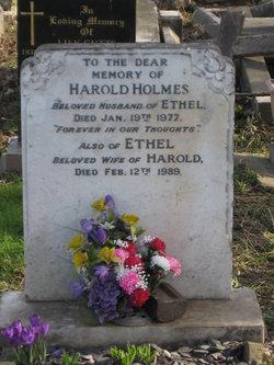 Mary Ethel <I>Lambert</I> Holmes
