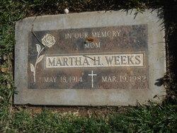 Martha H. Weeks