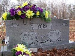 Archie W. York