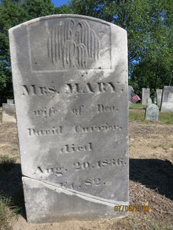 Mrs Mary <I>Dinsmore</I> Currier