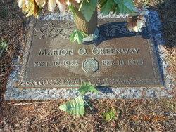 Marion O. Greenway