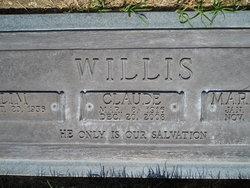 Claude Edward Willis, Jr