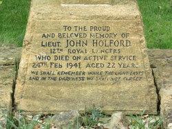 LT Thomas Patrick John Holford