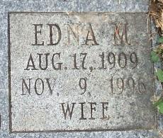 Edna M. Goewert