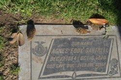"""Agnes Eddy """"Mamie"""" Gartrell"""
