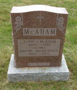 Minnie <I>MacDonald</I> McAdam