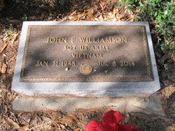John F Williamson