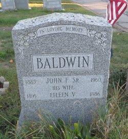 John J Baldwin, Sr
