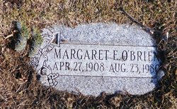 Margaret E O'Brien