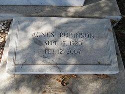 Agnes Robinson