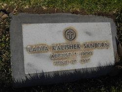Ladya <I>Kalishek</I> Sanborn