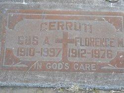 Florence M. Cerruti