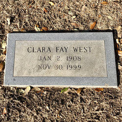 Clara Fay <I>Halsey</I> West