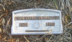 Ida Clemons <I>Beal</I> Martin