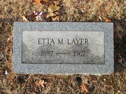 Etta M Layer