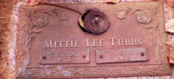 Mittie Lee Tubbs