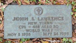 John L Lawrence