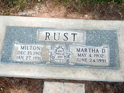 Martha D. Rust