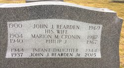 Marion M. <I>Cronin</I> Rearden