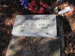 Annie E Tillman