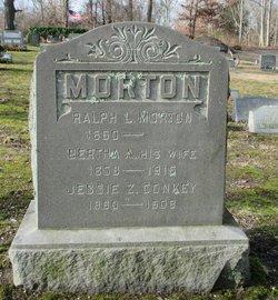 Bertha A Morton