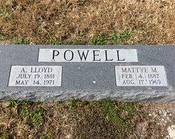 Mattye <I>McClean</I> Powell