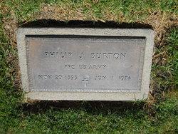 Philip J Burton